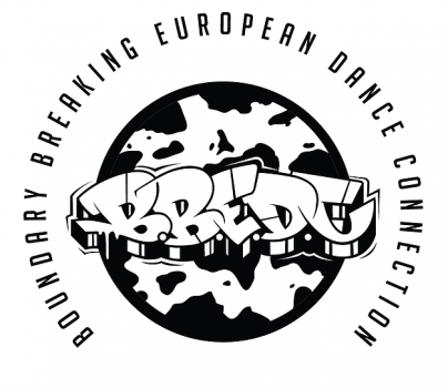 logoyp projektu BBEDC z opisem Boundary Breaking European Dance Connection.