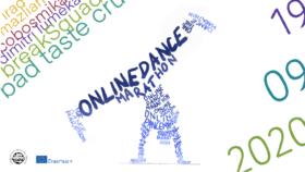 Online Dance Maraton - grafika promująca wydarzenie