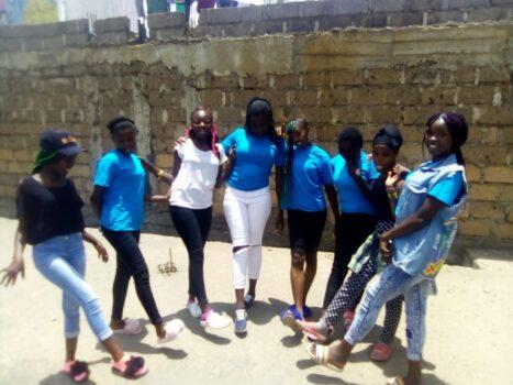 Uczniowie z Kenii