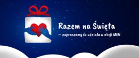 razem na święta - banner zachęcający do udziału w akcji